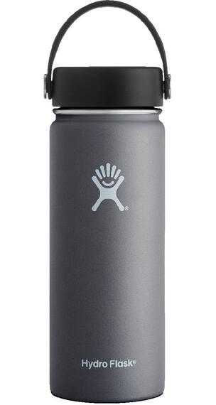 Hydro Flask Wide Mouth Flex Bottle 18oz (532ml) Graphite